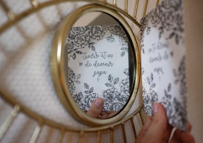 Les cartes Miroir pour annoncer sa grossesse